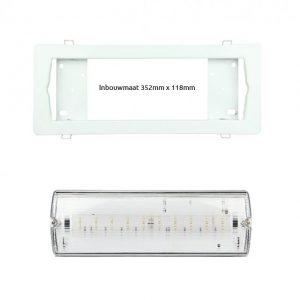 led noodverlichting armatuur 4 watt inbouw